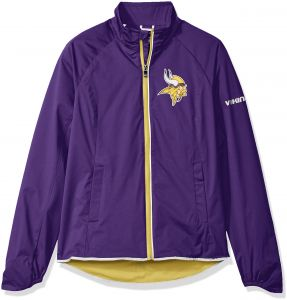 3dce02ea5 NFL Minnesota Vikings Women s Batter Light Weight Full Zip Jacket