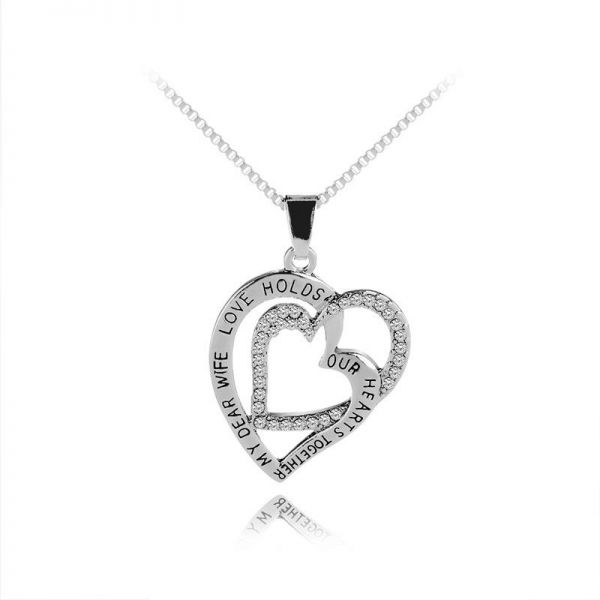9dd9c1c4f686 Tiny Heart Choker Necklace for Women Chain Smalll Love Necklace Pendant on  neck Chocker Necklace Jewelry