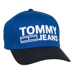 7e149b1f1e4 Tommy Hilfiger Unisex Baseball Cap - Black and Blue