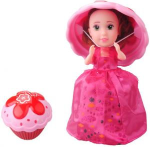 155cm Cup Cake Doll Flavor Mini Deformable Pastry Princess Deformed Dolls Dress Surprise Sweet Girl Birthday Christmas Magic Gift Transform Cupcake Toy