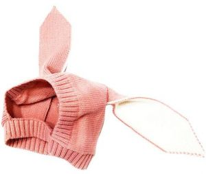 huge selection of 4b7d6 35995 infant baby knitted hat rabbit style cap fit for 6-18 months