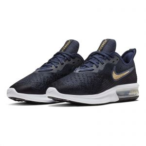 check out 8480a 21429 Nike Air Max Sequent 4 Running Shoes for Women