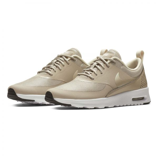 plus récent 4faf3 2a282 Nike Air Max Thea Running Shoes for Women (Beige - 39 EU)