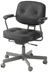 Superb Swivel Chair Glose Black Beatyapartments Chair Design Images Beatyapartmentscom