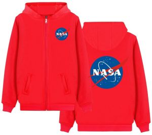 48c596ce96f Astronaut Spaceman Coat Mens NASA Mars Hooded Plus Size Coat Jacket Teens  Sweatshirt Hoodies Red CL00121