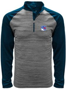 a8bce77a5 NHL New York Rangers Men s Vandal Wordmark Quarter Zip Mid-Layer