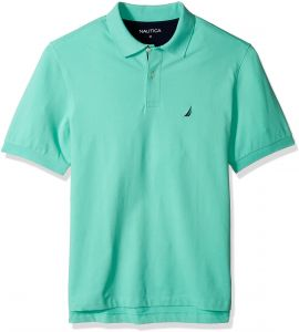 4d8333c7 Nautica Men's Big Short Sleeve Solid Deck Polo Shirt, Mint Spring, 1XLT Tall  | Souq - UAE