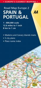 Buy aa road map europe route planner map   Aa Publishing - UAE ...