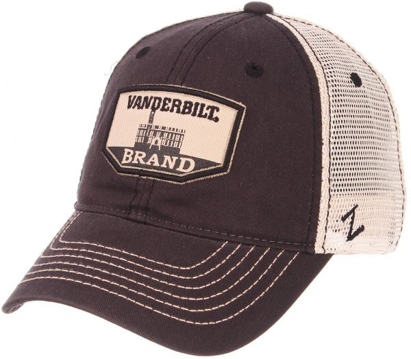 big sale 32279 e16cc ... spain zephyr ncaa vanderbilt commodores mens trademark relaxed cap  adjustable washed team white c1528 6828f