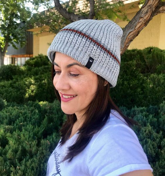 Dohm Classic Stripe Merino Wool Go-To-Cold Weather Hat 2b36e7330ee