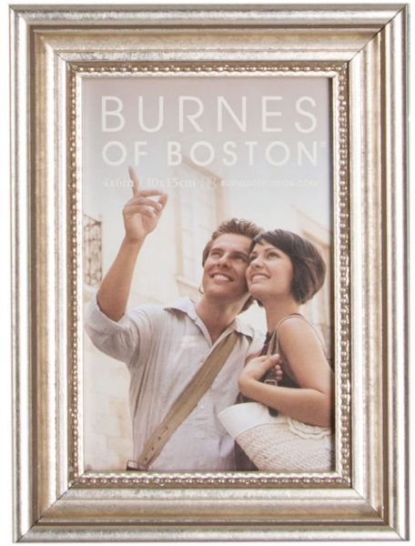 Burnes Of Boston 904446 Capri Ornate Picture Frame 4 Inch By 6 Inch