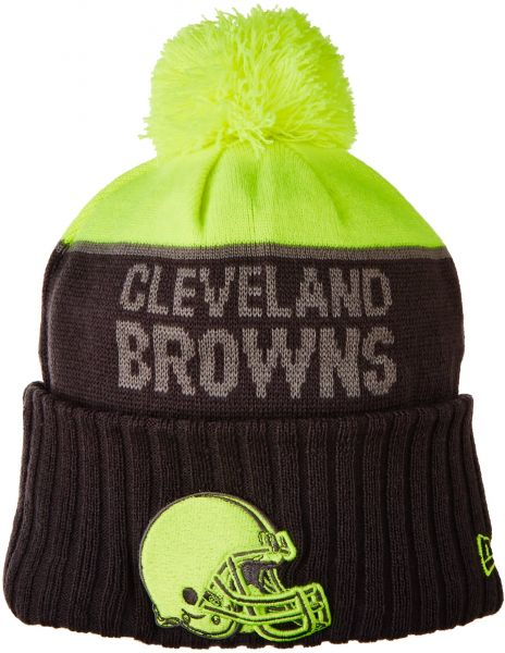 0a9bee9e7bb New Era NFL Cleveland Browns 2015 Upright Sport Knit