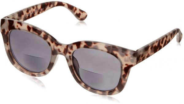 d2e9381c78 Peepers Women s Center Stage Bifocal Square Sunglasses