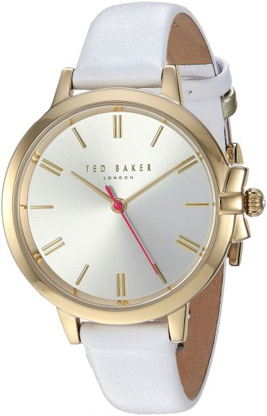 68c864049ed Ted Baker Women s  Ruth  Quartz Stainless Steel and Leather Casual Watch