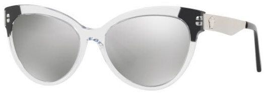 f8f051cf1719 Versace Cat Eye Sunglasses For Women - Silver