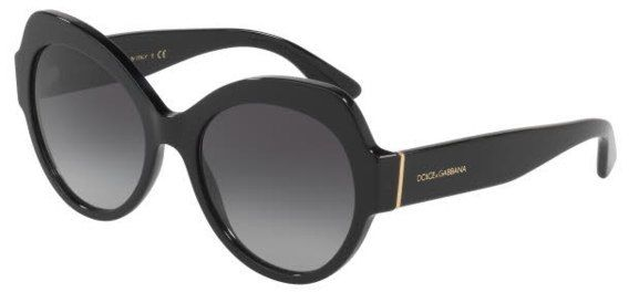 75ac2658cb23 Dolce & Gabbana Cat Eye Sunglasses For Women - Grey, 4320, 56, 501, 8G
