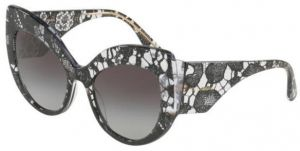 2e71bd226059 Dolce & Gabbana Butterfly Sunglasses For Women - Grey, 4321, 55, 3152, 8G