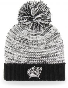 OTS NHL Columbus Blue Jackets Female Sansa Cuff Knit Cap dcfd250d5098