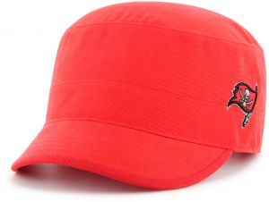 7a97c7b905b091 NFL Tampa Bay Buccaneers Women's Shipmate OTS Cadet Military-Style Adjustable  Hat, Torch Red, Women's