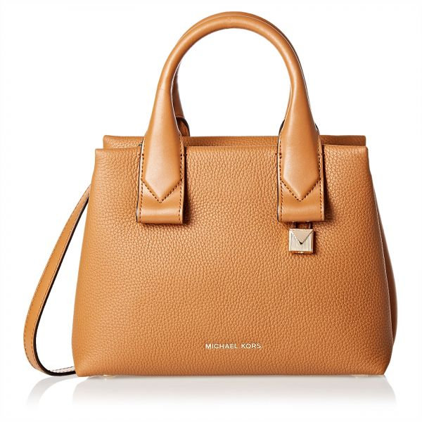 9be40b52840f91 ... usa michael kors satchel bag for women brown bf3ee 94ca8