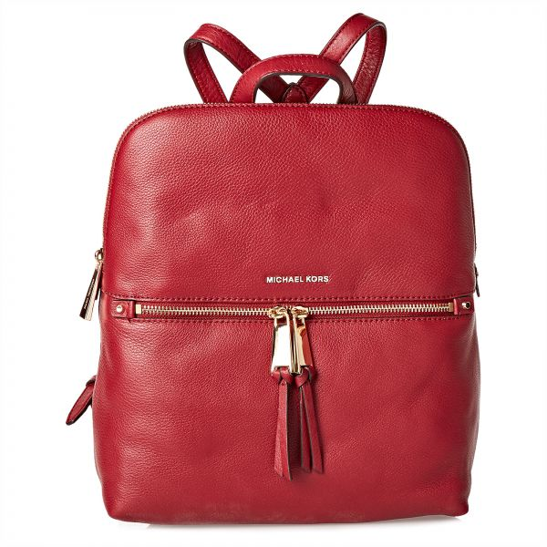 9797b3aaa1e6f Michael Kors Fashion Backpack For Women - Red