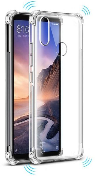Huawei Honor 8X Protective Case Transparent Clear Case Shockproof Back  cover Case, Clear