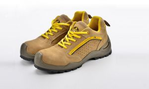 37ad7bc3743 Safety shoes suede cow leather with Steel toecap and Steel plate