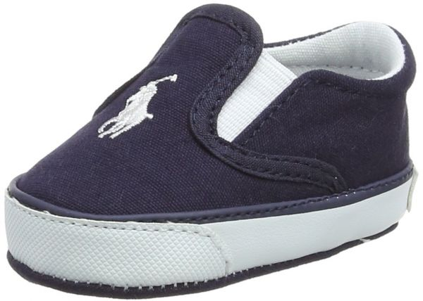 a46ae58846bdf Polo Ralph Lauren Kids Boys  Bal Harbour II Crib Shoe