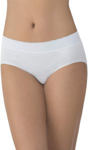 ecf788bf4a Vanity Fair Women s No Pinch-No Show Seamless Hip Brief Panty 18170