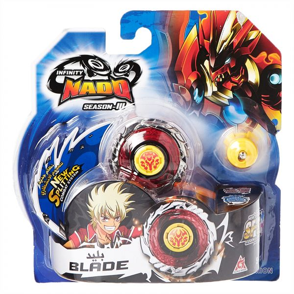 Infinity Nado Inf Nado S-Iii Fiery Blade - 3 Years and Above