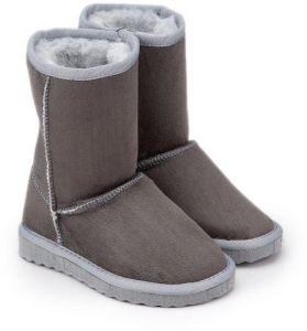 1c527c4d634 comfortable women winter boots gray