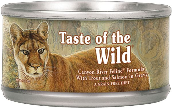 09865e7cb1a5 Taste of the Wild Canyon River Feline Formula with Trout and Salmon ...