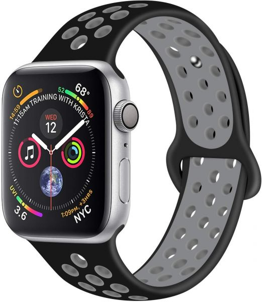 best website a398e 43333 RDX Compatible Sport Band Apple Watch 42mm 44mm Silicone Str