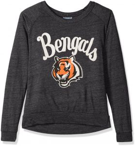 11529e559 Junk Food NFL Cincinnati Bengals Women s Long Sleeve Tee