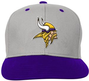 NFL Youth Boys Team Flatbrim Snapback Hat-Regal Purple-1 Size 7baa723af