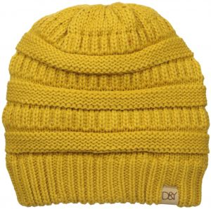 D Y Women s David and Young s Solid Slinky Beanie 58e1a1cdf57f