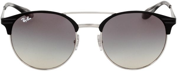 1c0ca2f6d4a Ray-Ban Two Tone Metal Frame Grey Lens Sunglasses RB3545