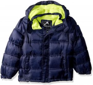 e39a67f37a1 Vertical  9 Little Boys  Bubble Jacket with Storm Placket
