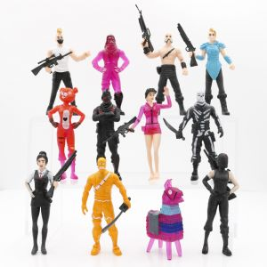 199a0ee65 4.5inch 12pcs/set Fashion Anime Toys Home Ornamets Fortnite Games Action  Figures Fans Collection Model Perfect Gift for adult kids