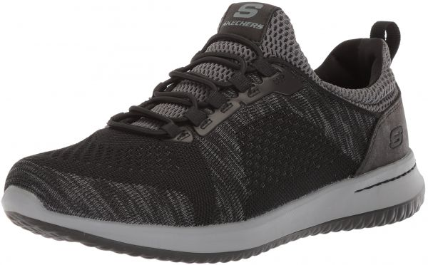 Skechers USA Men s Men s Relaxed Fit-Delson-Brewton Sneaker 6ad8dce02