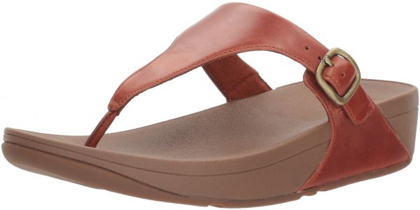 0693639df61a6 FitFlop Women s The Skinny Leather Toe-Thong Sandal
