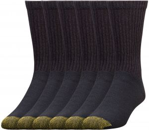 a8db923f3f Gold Toe Men s 6-Pack Cotton Crew Athletic Sock