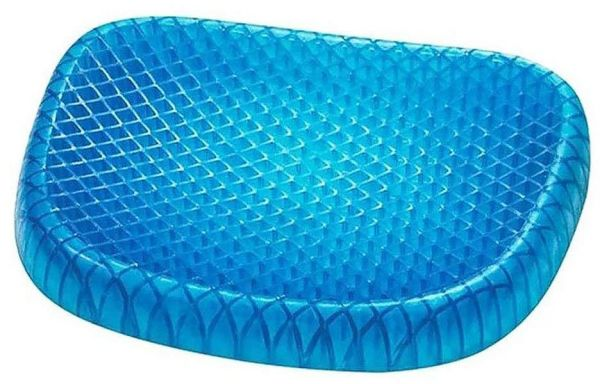 Seat Cushion with Breathable Honeycomb Design Absorbs Pressure Points