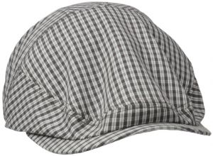 3e69c31f499 Henschel Men s New Shape Checked Pattern Ivy Hat with Cotton Lining