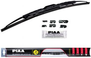 "Pack of 1 PIAA 95055 Super Silicone Wiper Blade 22/"" 550mm"