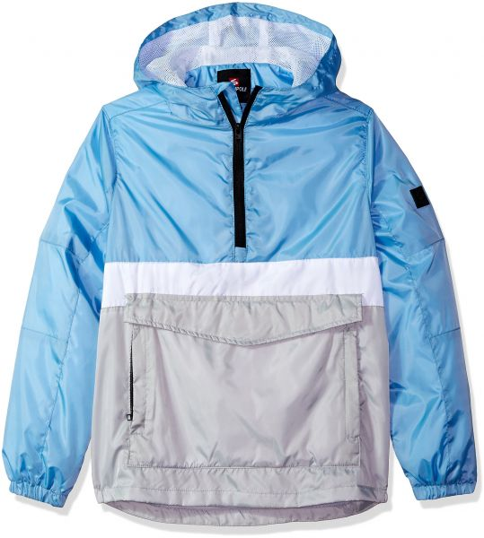 b7a88b2580 Southpole Big Boys  Anorak Colorblock Water Resistance Hooded ...