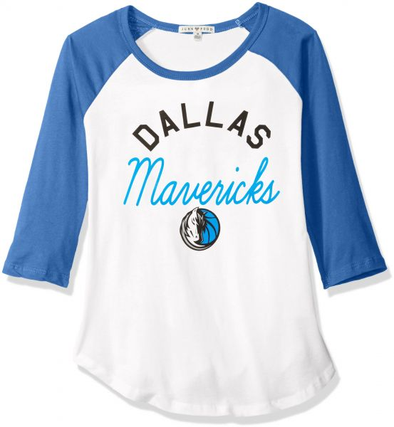 4516b3e61c3d Junk Food NBA Dallas Mavericks Women s All American Raglan T-Shirt ...