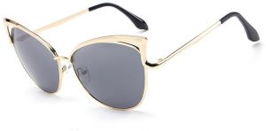 9aa868dd45 HDCRAFTER Ladies Cat Eye Sunglasses