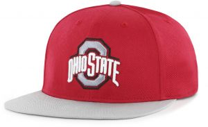 huge selection of 711ac 8f6f0 OTS NCAA Ohio State Buckeyes Gallant Varsity Snapback Adjustable Hat, One  Size, Red
