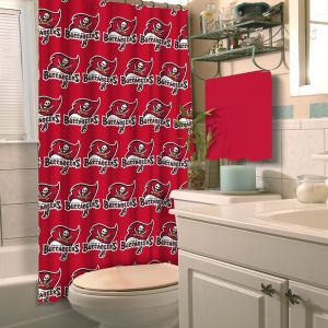 NFL Tampa Bay Buccaneers Shower Curtain 72 X